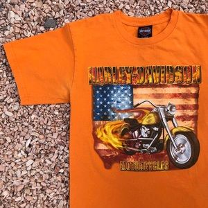 Authentic Harley Davidson Graphic T Size Medium